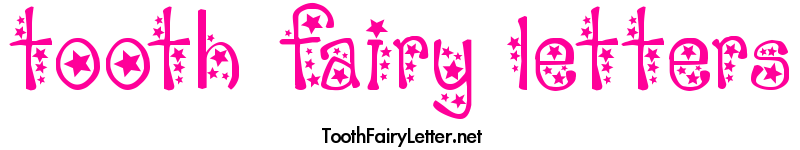 Printable Letters From The Tooth Fairy and Tooth Fairy Coloring Pages