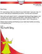 Tooth Fairy Letter — Chi